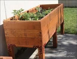 luxury herb garden planter box plans