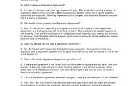 divorce agreement template resumess memberpro co