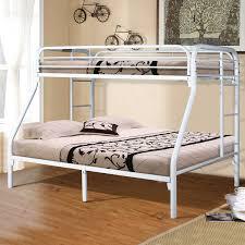 White Bunk Bed Frame Bedroom Furniture Oak Bed Frame Low Profile Bed Frame Furniture