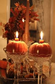 pumpkin candle centerpiece all things pumpkin