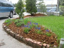 Backyard Flower Bed Designs Exciting Midwest Front Yard Landscaping Ideas Pics Design Cool