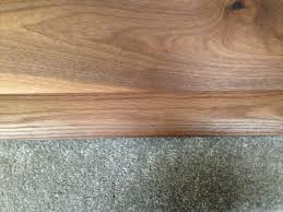 Laminate Floor Trims Solid Carpet Wood Semi Ramp Floor Trims Door Threshold Cover