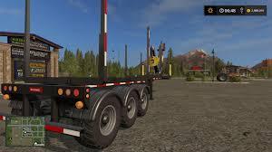 arcade en bois biobeltz log trailer tr 750 fs17 v1 1 0 1 farming simulator 2017