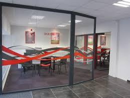 cloison modulaire bureau cloison amovible vitrée de bureau open space isolation phonique
