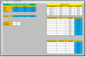 How To Do Excel Spreadsheets Excel Spreadsheets Help Trip Cost Estimator Spreadsheet Template