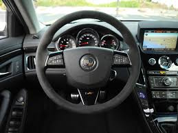 cadillac cts steering wheel anyone swapped in this suede steering wheel center successfully