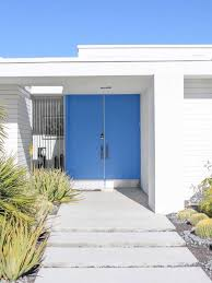 frontdoor the best way to choose a front door colour from palm springs