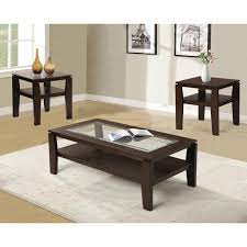3 piece black coffee table sets coffee tables sets 3 coffee drinker