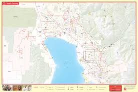 Utah Cities Map by Utah County Maps Visit Utah Valley