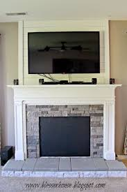simple faux fireplace mantel diy design ideas cool and faux