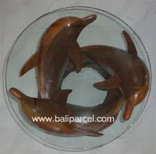 dolphin table with glass top bali handicrafts wholesale bali home decor handicrafts supplier bali