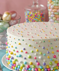 Easy Easter Cake Decorations by Beautiful Easter Cakes Easter Polka Dot Cake