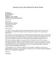 cover letter nursing experienced cover letter nursing cover letter sle for