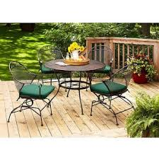 Refinishing Wrought Iron Patio Furniture by New Paint Job For Patio Furniture Mt Friendship Patio
