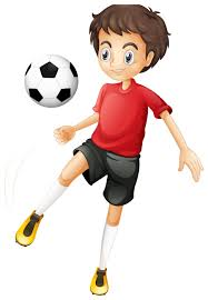 margarita cartoon kid football player cartoon image h šport pinterest kids