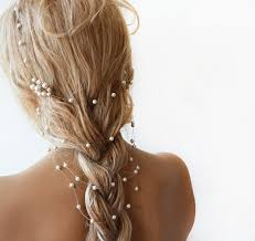 pearl hair accessories wedding pearl headband pearl bridal hair wedding hair