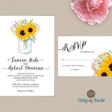 wedding invitations and rsvp jar wedding invitation and rsvp from onlybyinvite on etsy