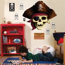 Giant Wall Stickers For Kids Pirates Giant Wall Decals Birthdayexpress Com