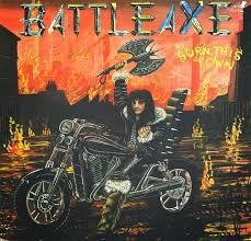 spirit halloween 1983 riddle of steel metal music battleaxe burn this town 1983