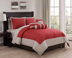 White And Red Comforter Reversible Red And White Gray Striped King Comforter Set With Red