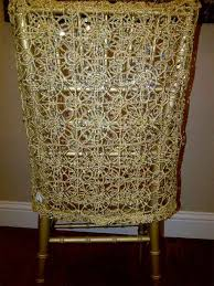 Crochet Armchair Covers Spandex Linens Gallery