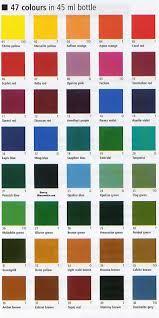 paint colour colour paint newest likeness porcelaine chart imbustudios