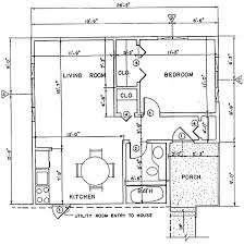 independent living home addition building plans plan 4