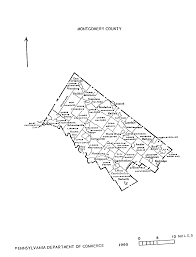 Map Of Counties In Pennsylvania by Pa State Archives Mg 11 1848 Montgomery County Map Interface