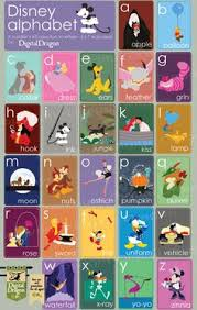 printable letter tracing pages for preschool with disney