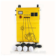 Solar Home Lighting System - china off grid led solar home lighting system manufacturers