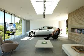 Cool Car Garages Cool Contemporary Office Interior Design Images On With Hd