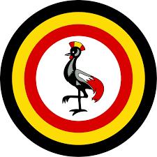 Images Of Uganda Flag File Roundel Of Uganda Type 1 Svg Wikimedia Commons