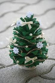 Cone Tree Felt And Pine Cone Elves Pine Cone Elves And Pine
