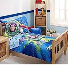 amazon disney toy story power 4 piece toddler bedding