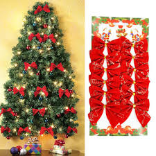 Red And Silver Christmas Tree Decorations Compare Prices On Gold Christmas Bows Online Shopping Buy Low