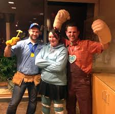 Wreck It Ralph Costume Pretty Proud Of Our Wreck It Ralph Costumes Imgur