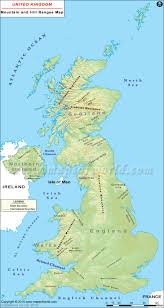 Map Of The British Isles Uk Mountains Map Highest Mountains In Uk
