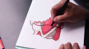sketch bug 15 footwear marker sketching youtube