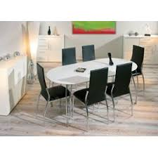 table cuisine ovale table de cuisine blanche affordable chaises conforama chaise