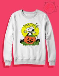 snoopy christmas sweatshirt trend fashion scary snoopy dracula crewneck sweatshirt