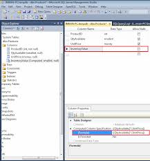 Sql Server Alter Table Change Column Name Sql Server How To Alter An Existing Computed Column In A Table
