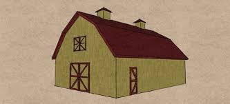 Gambrel Roof Pole Barn Plans Gambrel Pole Barn Kits