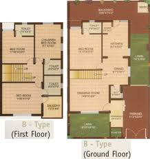 Bungalows Floor Plans by Galaxy Bungalows In Nava Naroda Ahmedabad Price Location Map