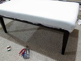enjoying the time of relaxing with upholstered coffee table home