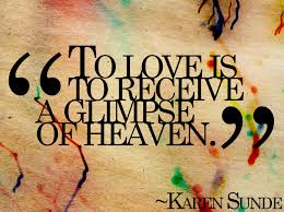 The Best Love Quotes For Her by Onlinedating365 Sweetlovequote From Karensunde To Love Is To