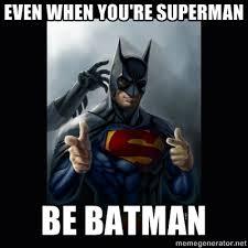 Batman Superman Meme - batman superman discuss their team up on facebook memes on memes
