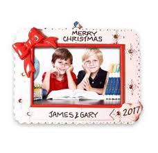 picture frame ornaments free personalization