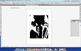 imagen blanco y negro en illustrator tutorial como hacer stencils en lienzo parte 1 distorsion urbana