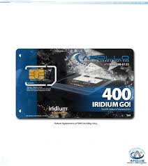 go prepaid card go 400 iridium go prepaid service 400 data 200 voice apollo satcom