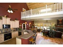 Open Floor Plan Country Homes There U0027s Wonderful Openness In This Spacious Layout Note The